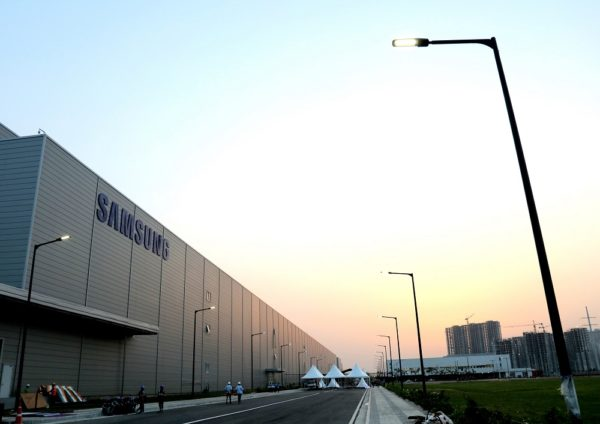Samsung Usine Noida 600x424