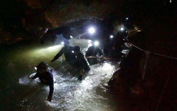 Sauveteurs Grotte Thailande 600x375