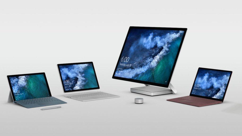 Surface Pro Vs Surface Book Vs Surface Laptop Vs Surface Studio 1024x576