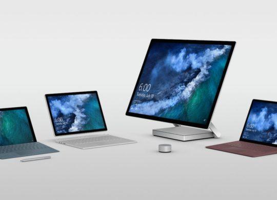Surface Pro vs Surface Book vs Surface Laptop vs Surface Studio