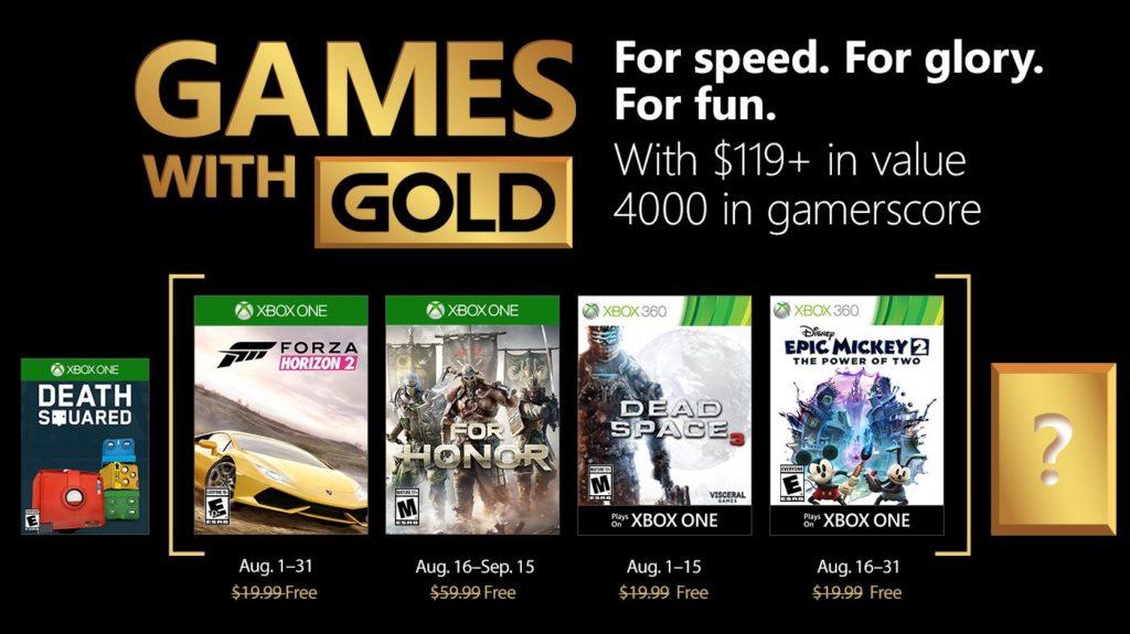 Xbox Live Gold Aout 2018 1024x575