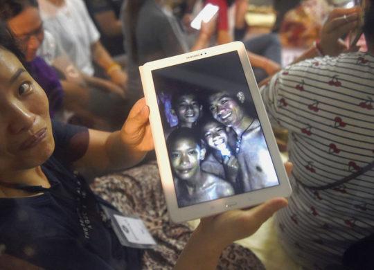 enfants pieges grotte thailande