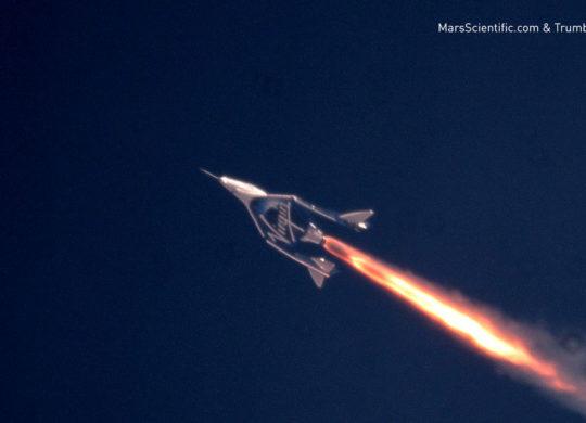 Virgin Galactic's Third Powered Flight on July 26th 2018