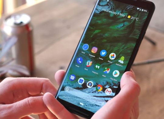 Gestes Android 9.0 Pie