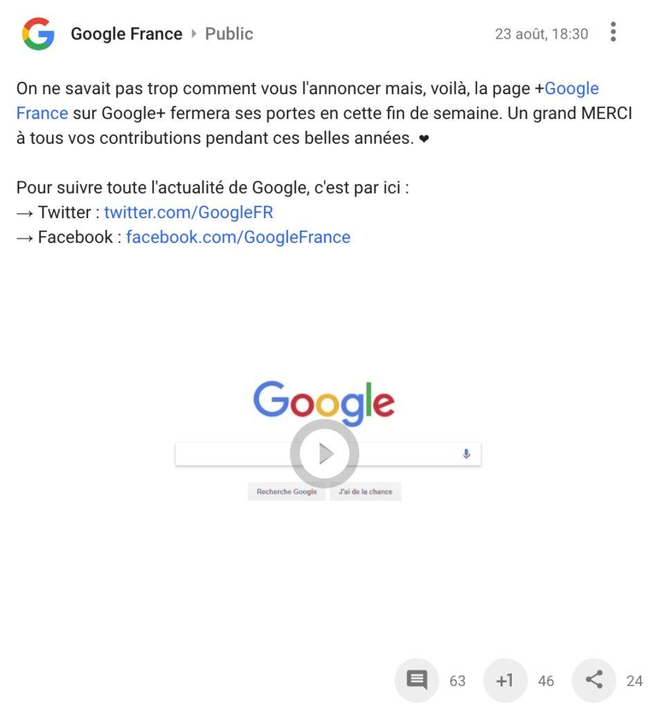 Google France Ferme Page Google Plus 943x1024