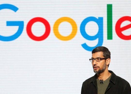 Google Logo Sundar Pichai