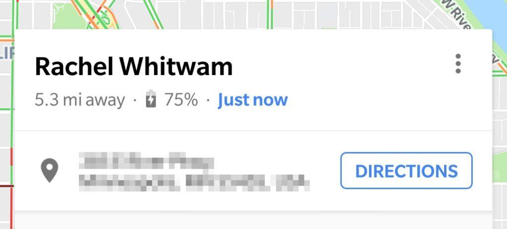 Google Maps Partage Position Pourcentage Batterie 1024x463