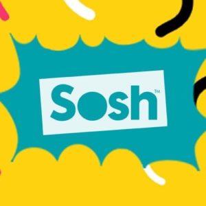 #Promo Sosh : le forfait 50 Go à 9,99¬/mois pendant un an