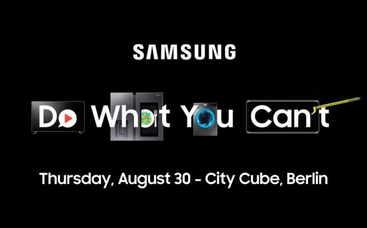 Samsung Invitation Conference 30 Aout 2018 IFA
