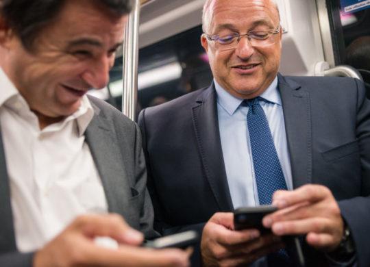 Smartphones Metro Lille