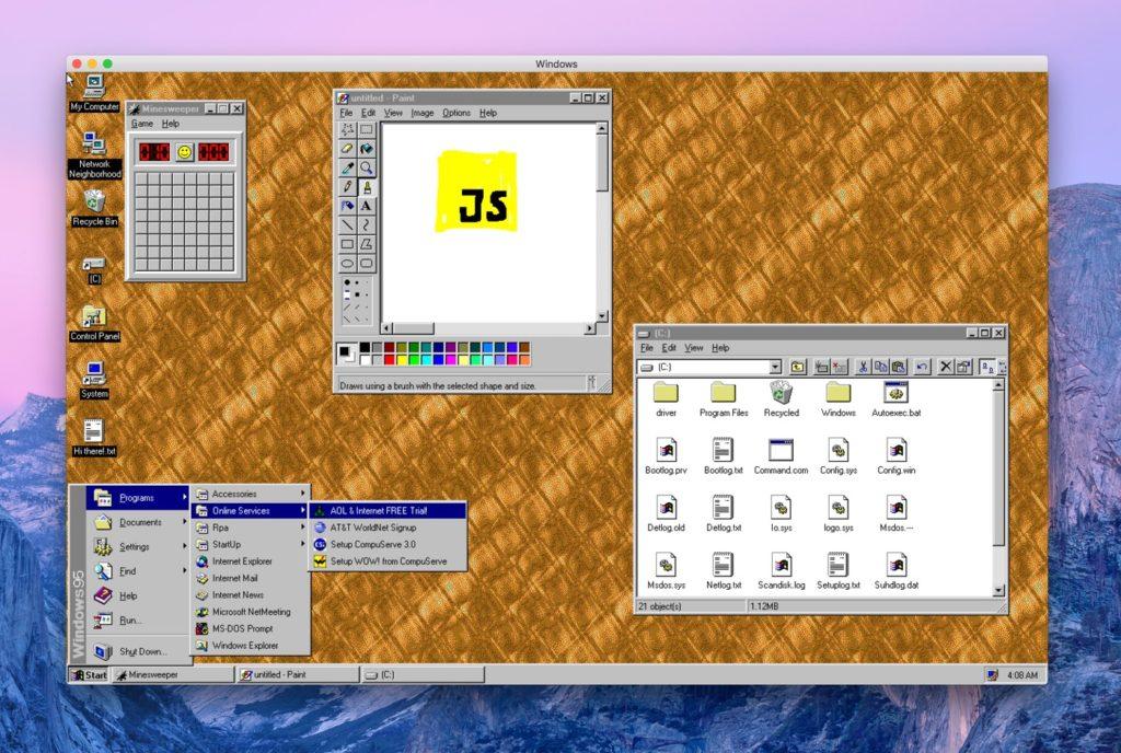 Windows 95 Application 1024x688