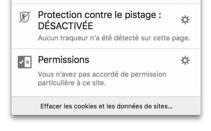 Firefox 62 Effacer Les Cookies Et Les Donnees De Site