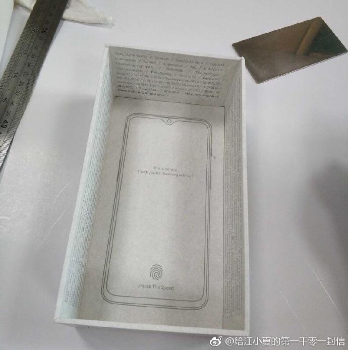 Fuite Boite OnePlus 6T