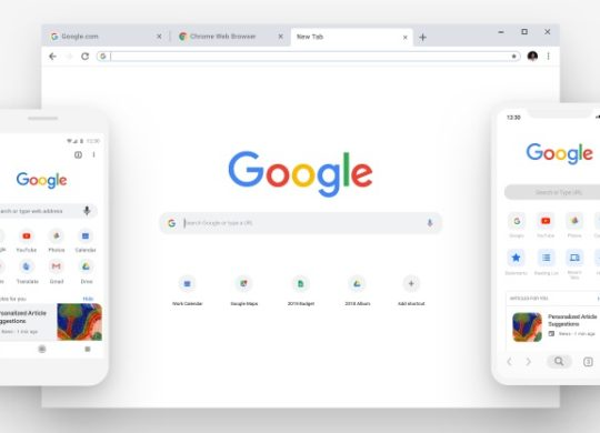 Google Chrome 69 Nouveau Design
