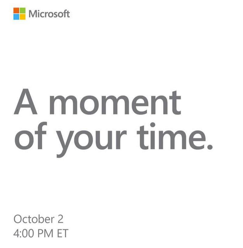 Invitation Conference Microsoft 2 Octobre 2018