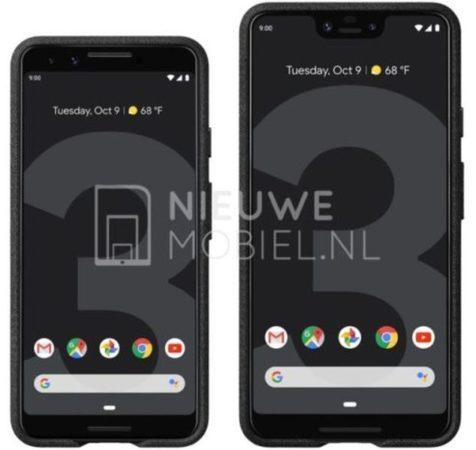 Leak Google Pixel 3 1 476x450