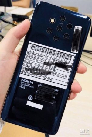 Nokia 5 Capteurs 303x450