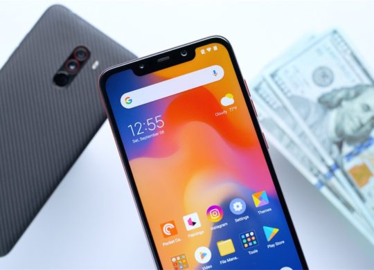 Pocophone F1 Avant Arriere