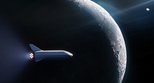 SpaceX BFR Lune 600x322