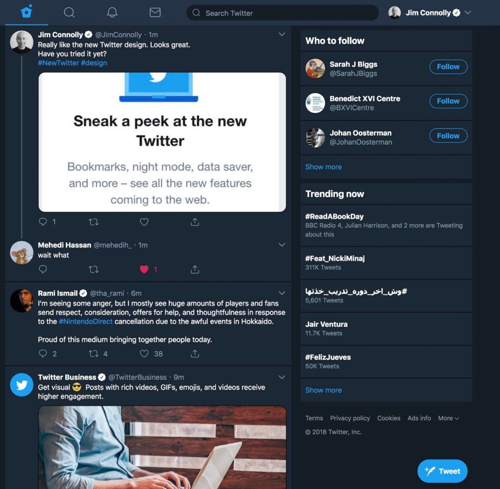 Twitter Nouvelle Interface Web 1 1024x1001