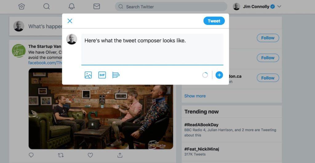 Twitter Nouvelle Interface Web 2 1024x532
