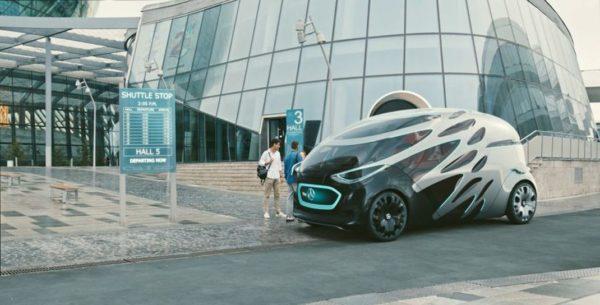 Mercedes Vision Urbanetic 600x305