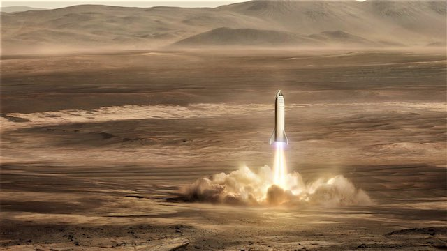 Mission Mars Spacex