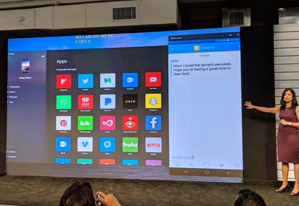 Applications Android Sur Windows 10 1024x704