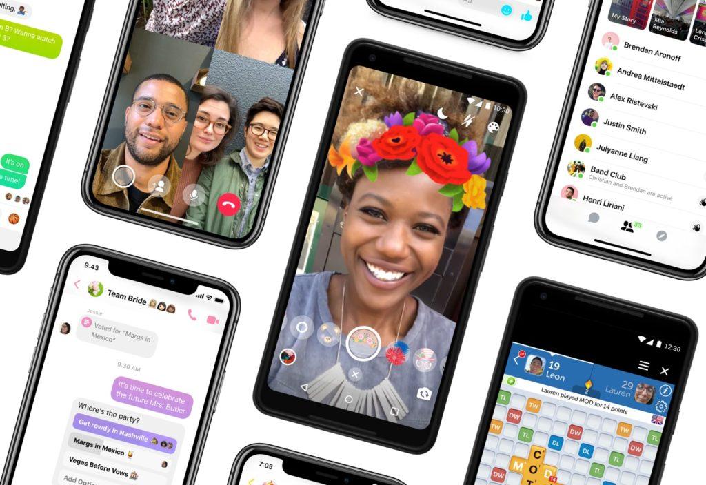 Facebook Messenger Nouveau Design Simplifie Octobre 2018 1024x704
