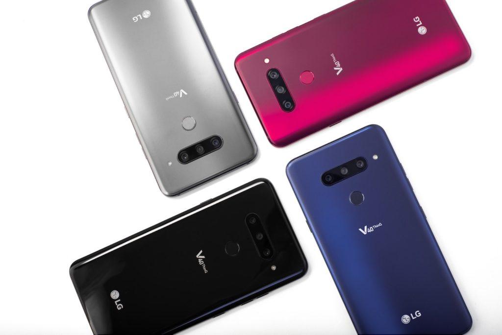 LG V40 ThinQ Arriere Coloris 1024x684