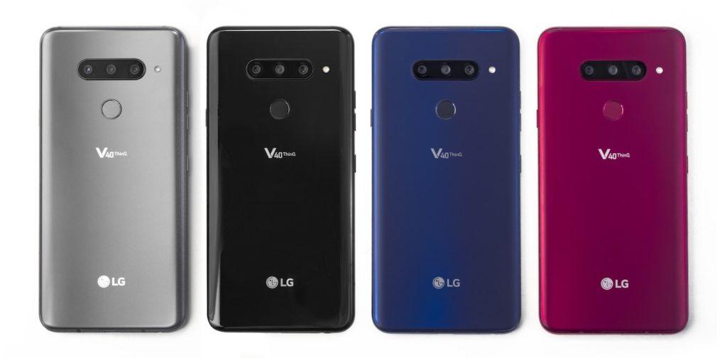 LG V40 ThinQ Arriere Coloris 2 1024x505