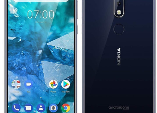 Nokia 7.1 Officiel Avant Arriere