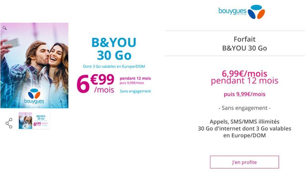 Promo Bouygues Forfait Octobre 2018 1024x592