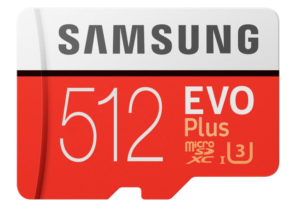 Samsung Carte MicroSD 512 Go 1024x721