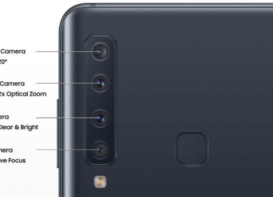 Samsung Galaxy A9 2018 4 Appareils Photo