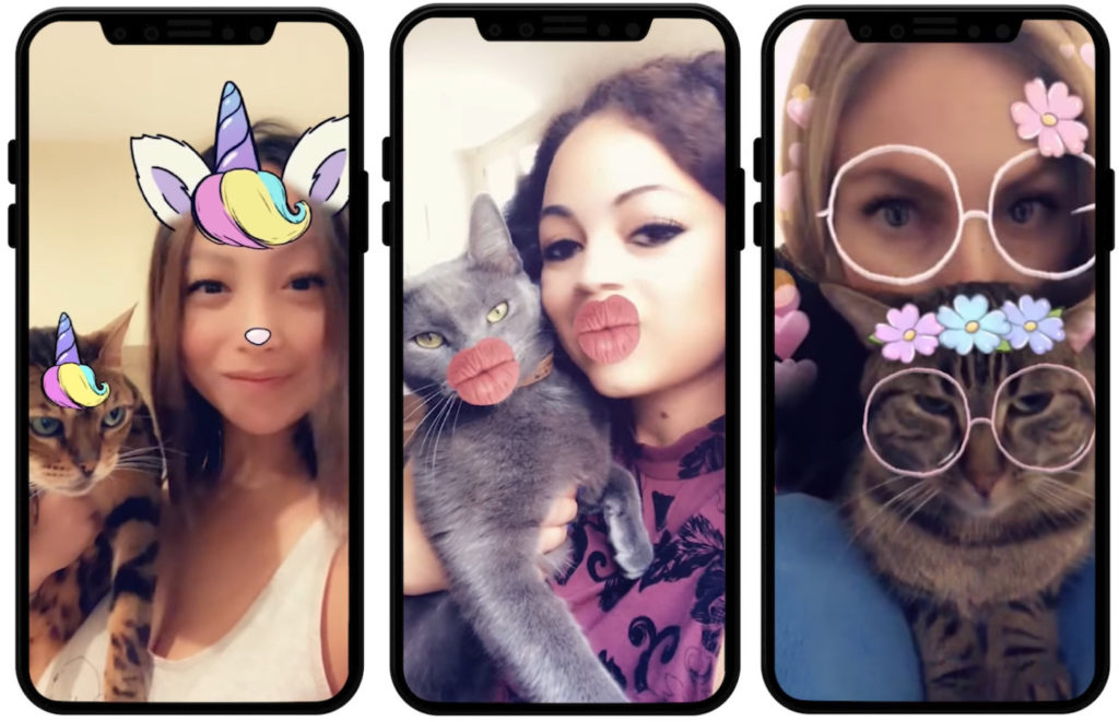 Snapchat Filtres Chats 1024x661