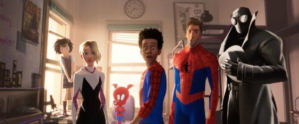 Spiderman Into The Spider Verse 600x249