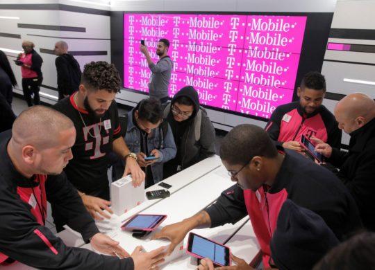 T-Mobile Boutique Time Square Interieur