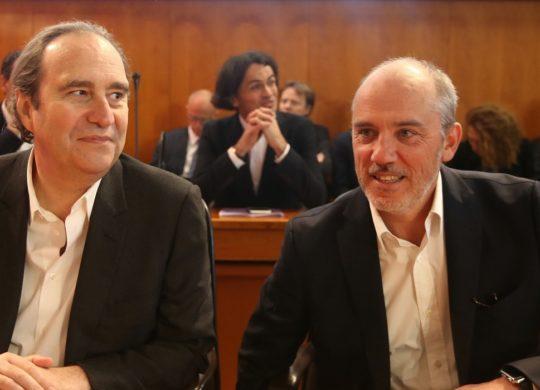 Xavier Niel et Stephane Richard