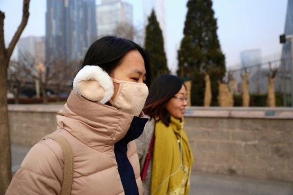 Air Pollution Mask China 600x399