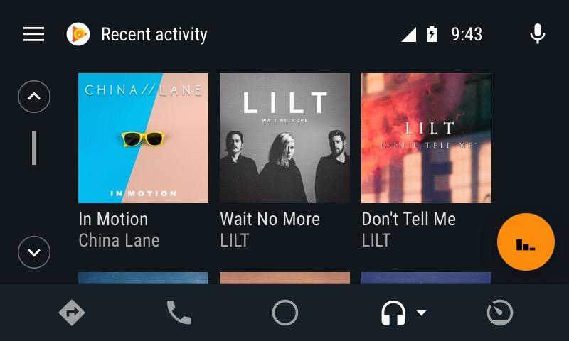 Android Auto Nouveau Lecteur Musical