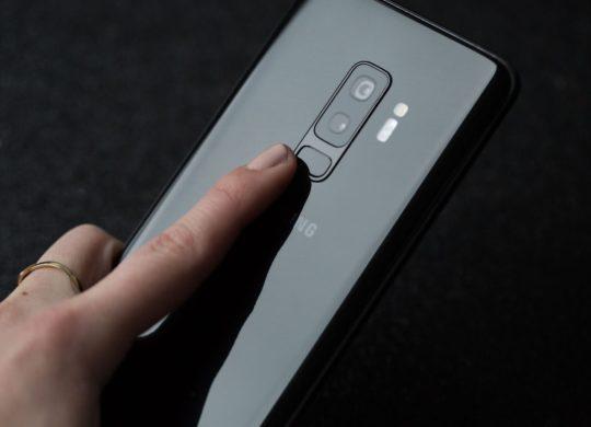 Galaxy S9 Plus Capteur Empreintes