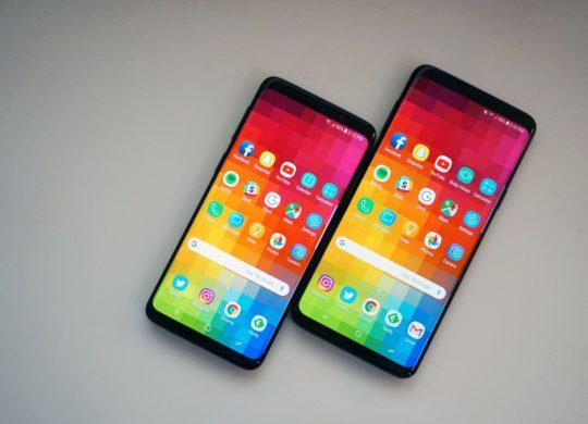 Galaxy S9 et Galaxy S9 Plus Avant