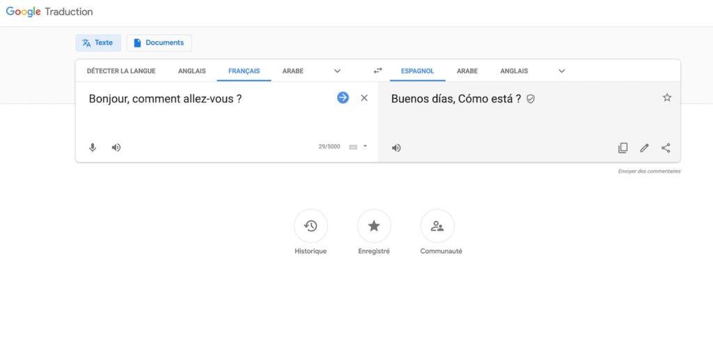 Google Traduction Nouveau Design Novembre 2018 1024x495