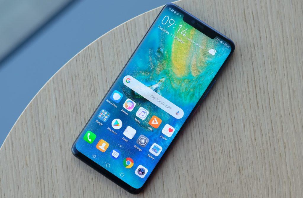 Huawei Mate 20 Pro Ecran 1024x671