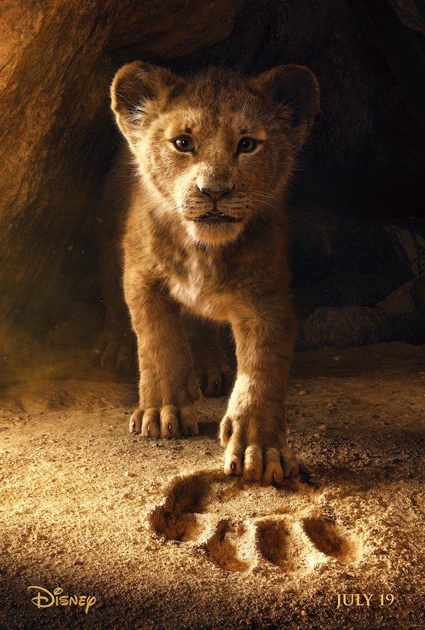 Le Roi Lion 2018 Affiche