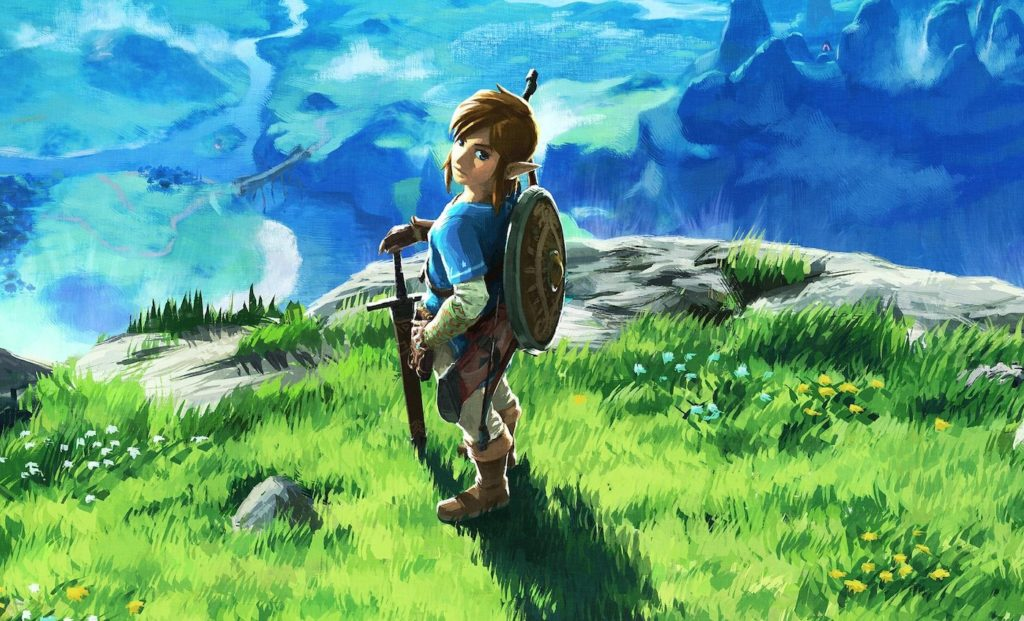 Link Zelda Breath Of The Wild 1024x621