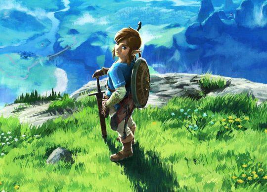 Link Zelda Breath of the Wild
