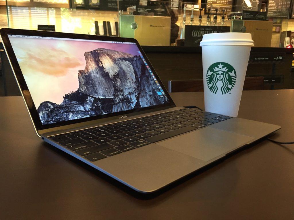 MacBook Starbucks 1024x768