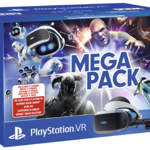 Sony lance un pack regroupant un PlayStation VR, une PS Camera et 5 jeux
